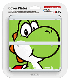 New 3DS Cover Plate - Yoshi Accessories