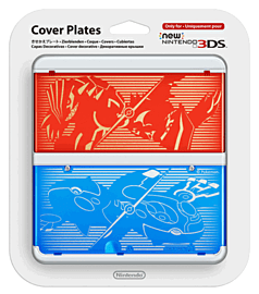 3DS Cover Plate - Pokémon Omega Ruby / Pokémon Alpha Sapphire Accessories