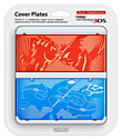 New 3DS Cover Plate - Pokémon Omega Ruby / Pokémon Alpha Sapphire Accessories