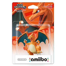 Charizard - amiibo - Super Smash Bros Collection Toys and Gadgets Cover Art