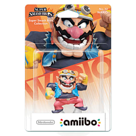 Wario - amiibo - Super Smash Bros Collection Toys and Gadgets Cover Art