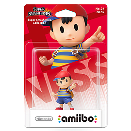 Ness - amiibo - Super Smash Bros Collection Toys and Gadgets Cover Art