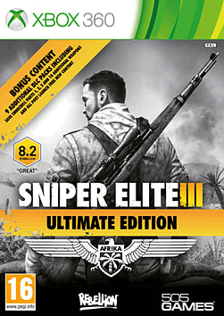 360 SNIPER ELITE V3 ULT ED Xbox 360