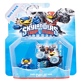 Skylanders Trap Team Air Buddy Pack - Full Blast Jet-Vac and Pet-Vac - Only at GAME Toys and Gadgets