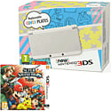 New Nintendo 3DS White with Super Smash Bros Nintendo 3DS