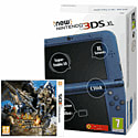 The New Nintendo 3DS XL Metallic Blue with Monster Hunter 4 Ultimate Nintendo 3DS