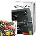 The New Nintendo 3DS XL Metallic Black with Super Smash Bros Nintendo 3DS