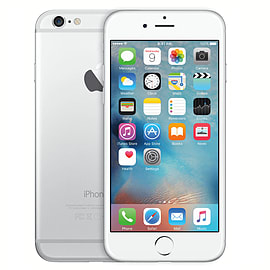 iPhone 6 16GB Silver (Grade B) - Unlocked Electronics