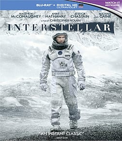 Interstellar Blu-Ray