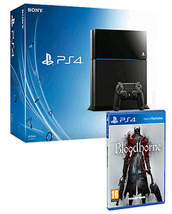PlayStation 4 with Bloodborne PlayStation 4