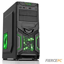 Fierce Savage Quad-Core Gaming PC (A8-6600K 3.9GHz CPU 8570D Graphics 8GB RAM 1TB) PC