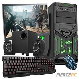 Fierce Savage Quad-Core Gaming PC Bundle (A8-6600K 3.9GHz CPU 8570D Graphics 8GB RAM 1TB) PC