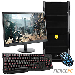 Fierce Rifle Quad-Core Gaming PC Bundle (Athlon X4 860K 3.7GHz GTX 750 2GB Graphics 8GB RAM 1TB) PC