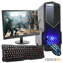 Fierce Revolver Quad-Core Gaming PC Bundle (Athlon X4 740 3.2GHz CPU GTX 750 2GB 8GB RAM 1TB) PC