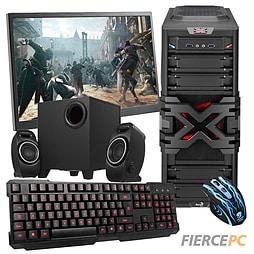 Fierce Stheno Quad-Core Gaming PC Bundle (Core i5 4690 3.5GHz GTX 750 2GB Graphics 8GB RAM 1TB) PC