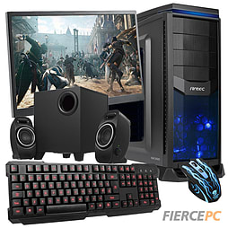 Fierce Medusa Quad-Core Gaming PC Bundle (Core i7 4790 3.6GHz GTX 750 2GB Graphics 8GB RAM 1TB) PC