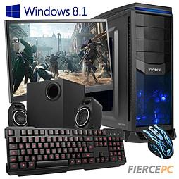Fierce Medusa Quad-Core Gaming PC Bundle (Core i7 4790 3.6GHzGTX 750 2GB Graphics 8GB RAM 1TB) PC