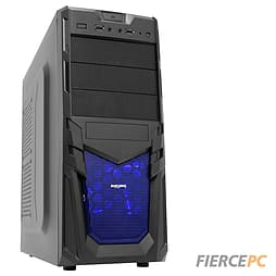 Fierce Jupiter Quad-Core Gaming PC (X4 860K 4.3Ghz Overclocked CPU R7 240 2GB 8GB RAM 1TB) PC