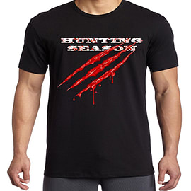 Hunting Season Large T-Shirt - Only at GAME Clothing and Merchandise