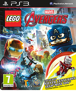LEGO Marvel Avengers Silver Centurion Edition PlayStation 3 Cover Art