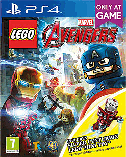 LEGO Marvel Avengers Silver Centurion Edition PlayStation 4 Cover Art