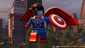 LEGO Marvel Avengers screen shot 10