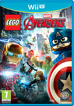 LEGO Marvel Avengers Wii U Cover Art