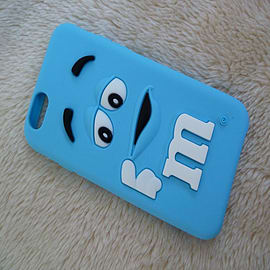 LIGHT BLUE M & M CHOCOLATE BEAN SILICONE CASE FOR IPHONE 6 4.7 Mobile phones