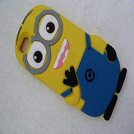 MINION TWO EYES SILICONE CASE FOR IPHONE 6 Mobile phones