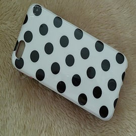 WHITE TPU DOTS CASE FOR IPHONE 6 Mobile phones