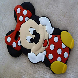DISNEY MINNIE MOUSE DRESS SILICONE CASE TO FIT IPHONE 6 Mobile phones