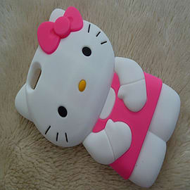 HELLO KITTY DRESS SILICONE CASE FOR IPHONE 6 Mobile phones
