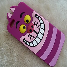 DISNEY CHESHIRE CAT FACE SILICONE CASE FOR IPHONE 6 PLUS Mobile phones