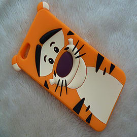 DISNEY TIGGER FACE SILICONE CASE FOR IPHONE 6 PLUS Mobile phones