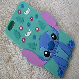 DISNEY STANDING STITCH SILICONE CASE TO FIT IPHONE 6 PLUS Mobile phones