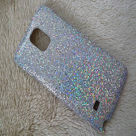 SILVER GLITTER HARD CASE TO FIT NOTE 4 Mobile phones