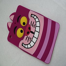 DISNEY CHESHIRE CAT FACE SILICONE CASE TO FIT IPAD MINI Mobile phones