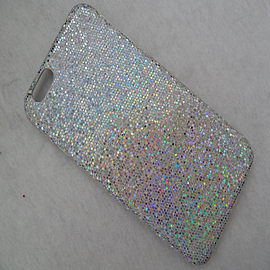 SILVER GLITTER HARD CASE TO FIT IPHONE 6 Mobile phones