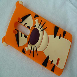 DISNEY FACE TIGGER SILICONE CASE TO FIT LG G3 Mobile phones
