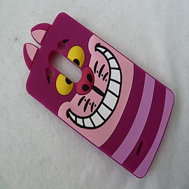 DISNEY FACE CHESHIRE CAT SILICONE CASE TO FIT LG G3 Mobile phones