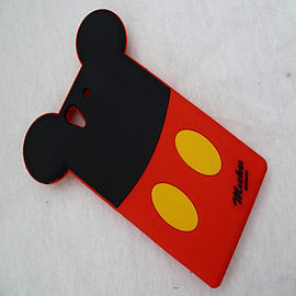 DISNEY BACK MICKEY MOUSE SILICONE CASE TO FIT SONY XPERIA Z Mobile phones