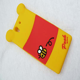 DISNEY BACK WINNIE THE POOH SILICONE CASE TO FIT SONY XPERIA Z Mobile phones