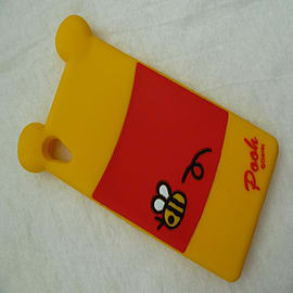 DISNEY BACK WINNIE THE POOH SILICONE CASE TO FIT SONY XPERIA Z2 Mobile phones