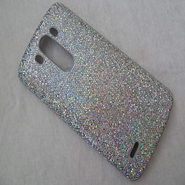 SILVER GLITTER HARD CASE TO FIT LG G3 Mobile phones
