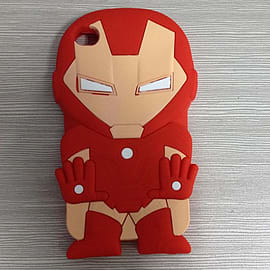 SUPERHEROS IRONMAN SILICONE CASE COVER FOR IPHONE 5 5S Mobile phones