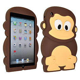 DIA BROWN MONKEY SILICONE CASE COVER TO FIT IPAD MINI Mobile phones