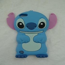 DIA Light Blue Disney Stitch silicone case cover for iPod Touch 5 5g 5th gen Mobile phones