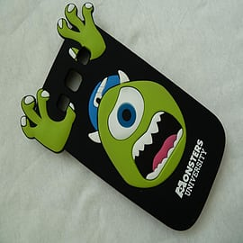 DIA BLACK MIKE MONSTERS INC SILICONE CASE COVER FOR SAMSUNG GALAXY S3 I9300 Mobile phones