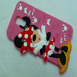 DIA DISNEY MINNIE MOUSE STANDING SERIES 4 SILICONE CASE COVER FOR SAMSUNG GALAXY S4 I9500 Mobile phones