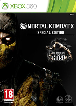 Mortal Kombat X: Special Edition including Goro DLC - Only at GAME Xbox 360